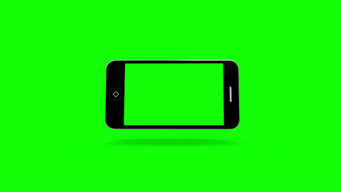 Smartphone Moving On Green Screen stock footage