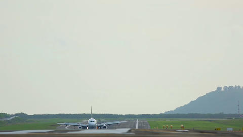 On The Runway stock footage