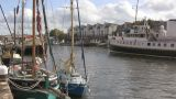 Ferry in Bristol 2 u k Footage