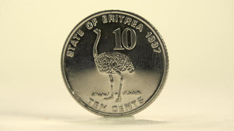 10 cents from the Eritrean Nakfa Footage