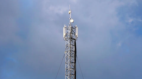 Cell phone tower Footage