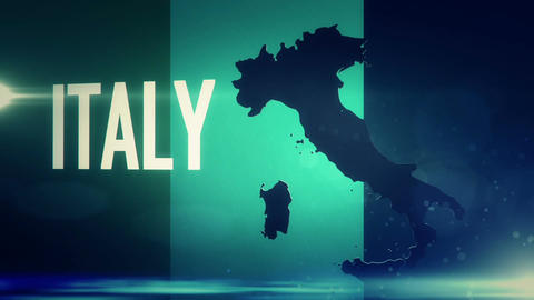 TV Opener, Country: Italy stock footage