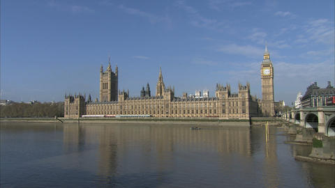 Houses of Parliament Footage