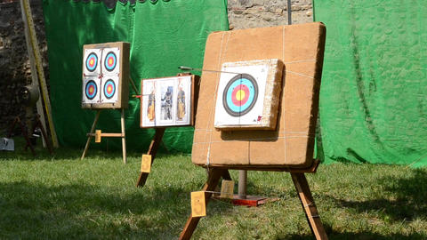 Targets for Arrows Footage