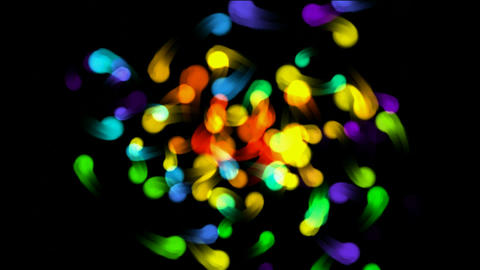 color flying dot light,fireflies,childhood,memories,fire,flame,gas,lighter,particle,Bacteria,microbe Animation