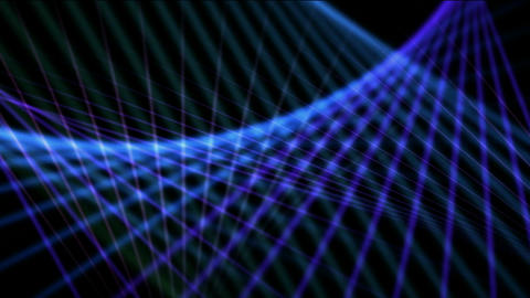 Blue motion grid light in space,web,Shine,velvet,net,Wire,steel wire,wire-mesh,weaving,textile,sunsh Animation