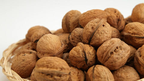 Walnuts motion background Footage