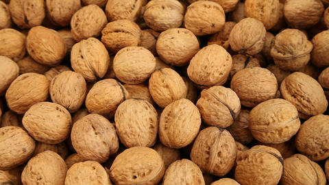 Walnuts background Footage