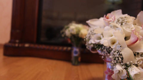 The Bridal Bouquet stock footage