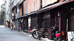 Kyoto Alley stock footage