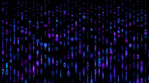 Digital matrix background,mathematics,computing,decryption,hacker,accounting,algorithms,trade,commer CG動画素材