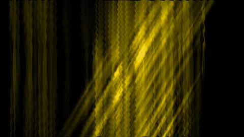 yellow waveform,rays light,sunlight.Cloth,silk,yarn,curtain,tech,wire,fibre,glow Animation