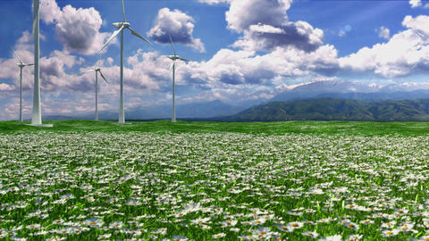 Clean Energy CG動画素材
