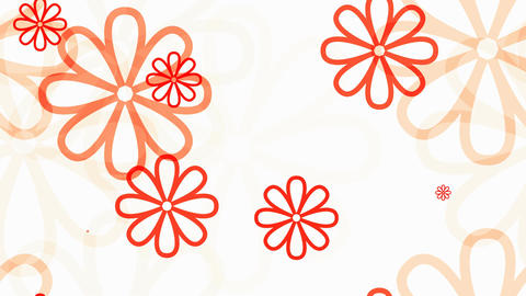 Tileable Soft Flourist Lines stock footage