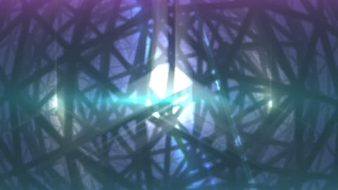 Abstract background. VJ loop. Rotation geosphere 3d object Animation