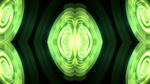 crystal or agate profile,nucleus,green pulse & light Animation