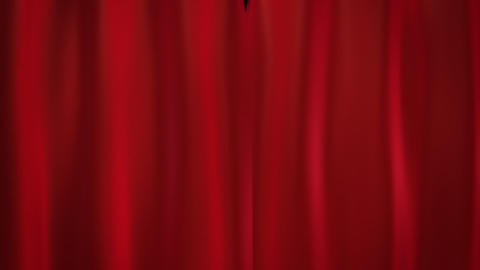 red curtains Animation