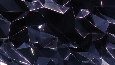 Loopable crystal background Animation