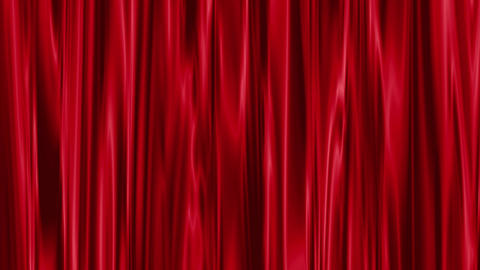 Red Curtain stock footage