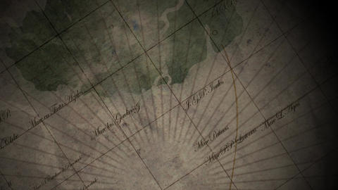 Medieval Map Background 1 stock footage