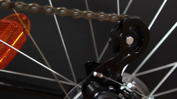 bicycle gear and wheel Footage