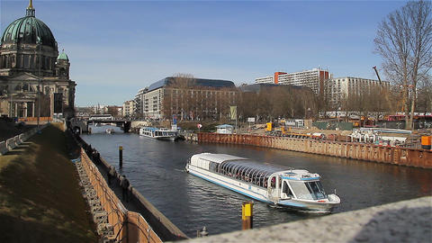 Spree River stock footage