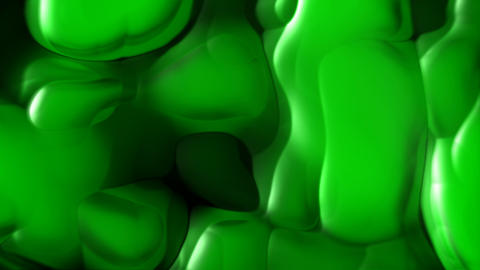 Green toxic substance Animation