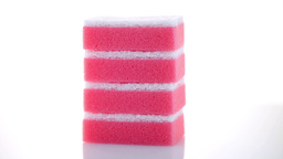Kitchen Sponges stock footage