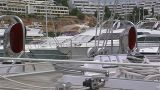 Sailing Yacht Deck stock footage