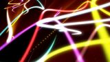 Abstract Strokes Of Light stock footage