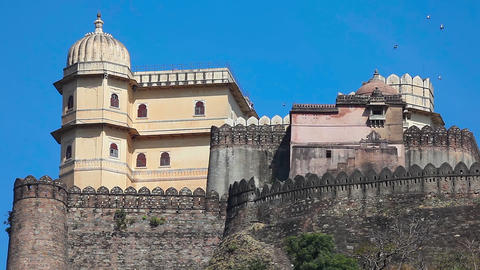 Kumbhalgarh fort Footage