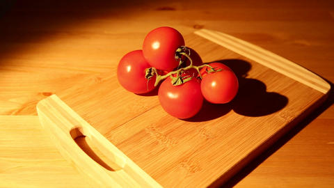 Bunch Of Tomatoes stock footage