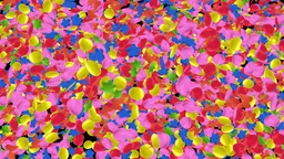 Confetti Fall stock footage