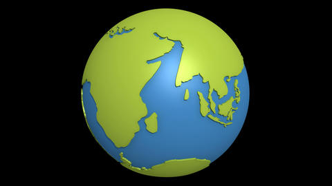 continental drift pacific Animation