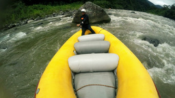 Whitewater rafting pilot Footage