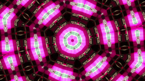 Kaleidoscope Animation stock footage