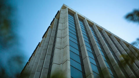 Corporate Office Building stock footage