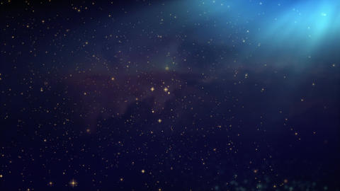 Space Nebula,universe Fly Through Seamless Looped Background stock footage