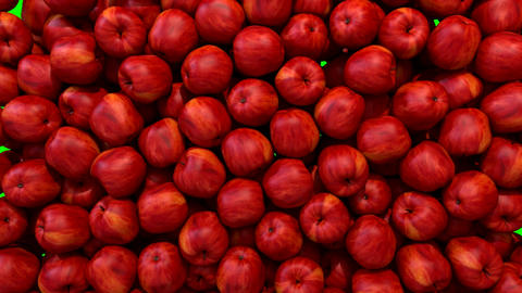 Apples red fill screen transition composite overlay element Animation