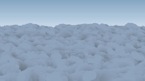Above The Clouds Png stock footage