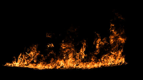 Fire Line Alpha stock footage