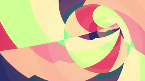 Color VJ tunnel background Animation