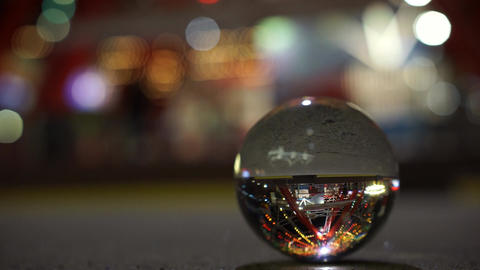 Crystal Ball with Reflection Footage