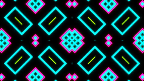 VJ Loop Abstract Neon 09 Animation