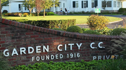 Garden City Country Club sign (1 of 2) Footage