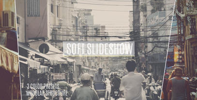 Soft Lines Slideshow stock footage