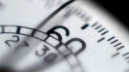 Detail of a stopwatch Footage