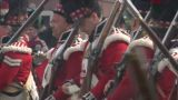 fighting scottish soldier 03 Footage
