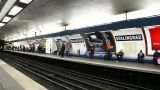 French Metro stock footage