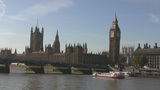 London Westminste and Big Ben Footage